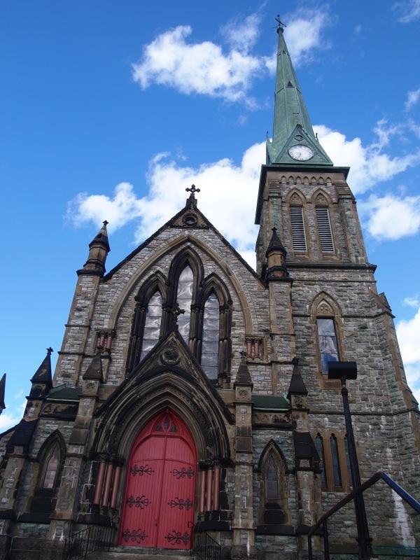 steeple in the sky